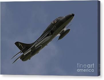 Hawker Hunter Canvas Print by J Biggadike