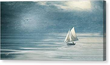 Heading In Canvas Print by Michael Petrizzo