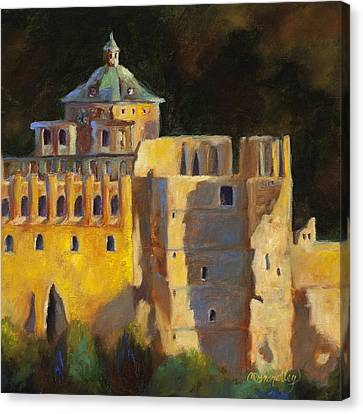 Heidelberg Schloss Canvas Print