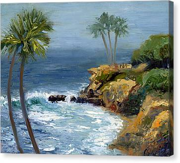 Heisler Park Canvas Print by Alice Leggett