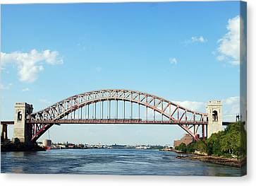 Hell Gate Bridge Canvas Print