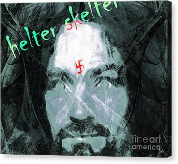 Helter Skelter 20141213 Horizontal Canvas Print by Wingsdomain Art and Photography