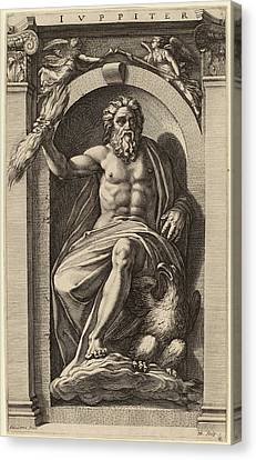 Hendrik Goltzius After Polidoro Da Caravaggio Dutch Canvas Print by Quint Lox