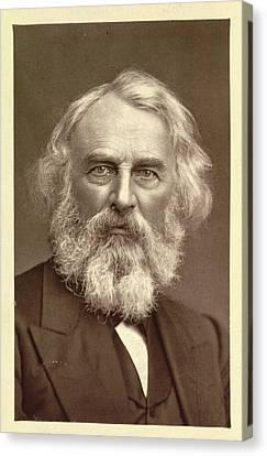 Henry Wadsworth Longfellow Canvas Print