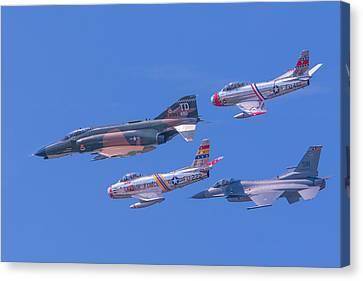 Heritage Flight Canvas Print by Allan Levin