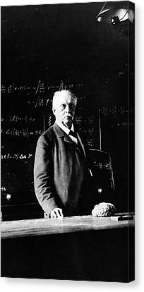 Hermann Helmholtz Canvas Print by Emilio Segre Visual Archives/american Institute Of Physics