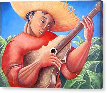 Hidalgo Campesino Canvas Print