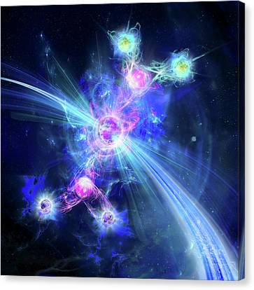 Higgs Boson Canvas Print by Harald Ritsch