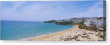 High Angle View Of The Beach Canvas Print