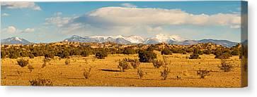 High Desert Plains Landscape Canvas Print