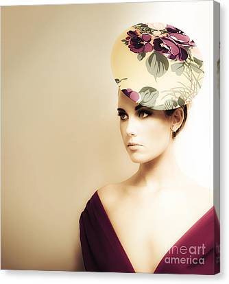 High Fashion Portrait Canvas Print by Jorgo Photography - Wall Art Gallery