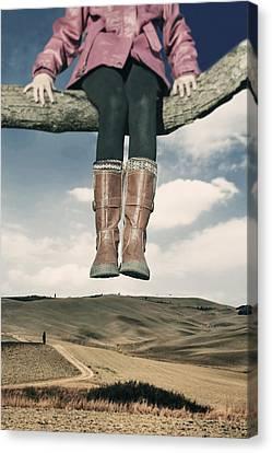 High Over The World Canvas Print by Joana Kruse