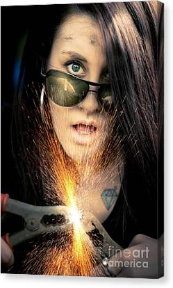 High Voltage Canvas Print by Jorgo Photography - Wall Art Gallery