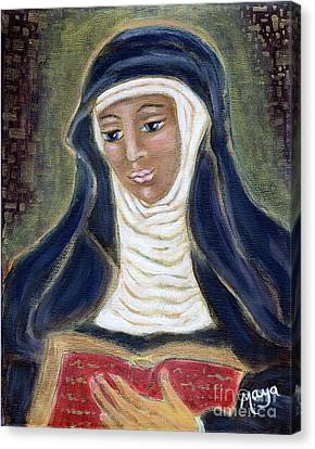 Hildegard Von Bingen Canvas Print by Maya Telford