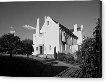 Hill House By Charles Rennie Mackintosh Canvas Print by Stephen Taylor