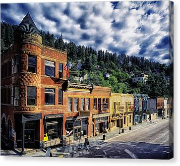 Historic Deadwood Canvas Print by Mountain Dreams