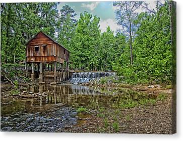 Historic Rikard's Mill In Virginia Canvas Print by Mountain Dreams