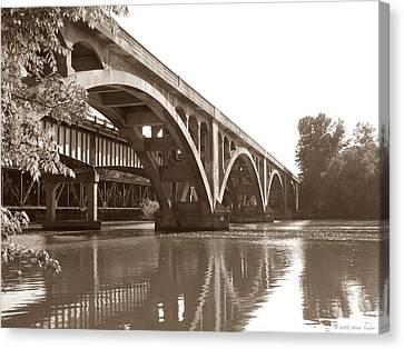 Historic Wil-cox Bridge Canvas Print by Matt Taylor