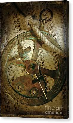 Historical Navigation Canvas Print by Bernard Jaubert