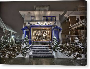 Hitsville Usa Canvas Print by Nicholas  Grunas