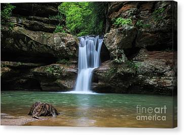 Hocking Hills  Canvas Print by Gary Hreben