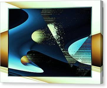 Holes Canvas Print by Steve Godleski