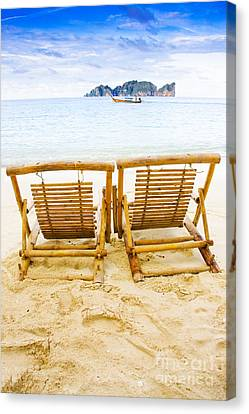 Holiday In Thai Paradise Canvas Print