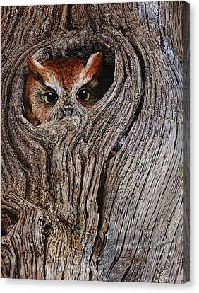 Hollowed Home Canvas Print