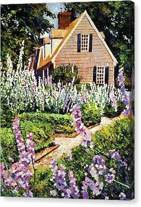 Hollyhock House Canvas Print
