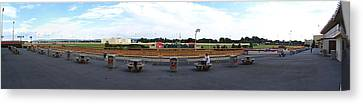 Hollywood Casino At Charles Town Races - 12121 Canvas Print by DC Photographer