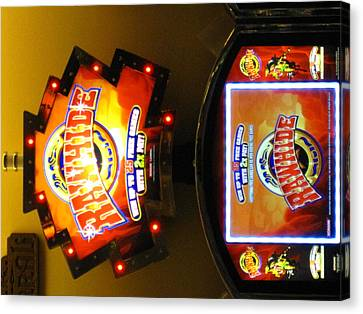 Hollywood Casino At Charles Town Races - 12124 Canvas Print by DC Photographer