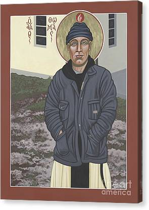 Holy World Evangelist Thomas Merton 267 Canvas Print