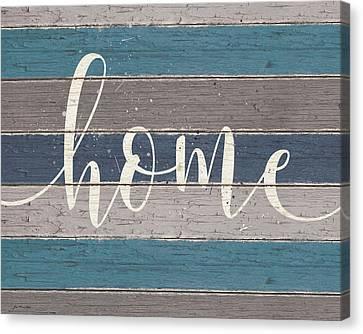 Home Script Canvas Print