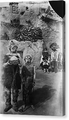Hopi Ceremony, 1893 Canvas Print