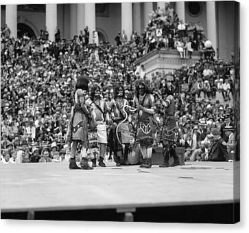 Hopi Snake Dance, 1926 Canvas Print