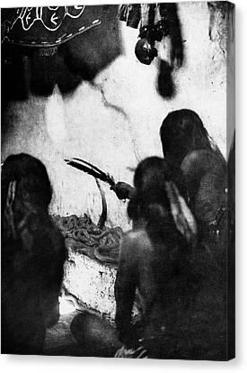 Hopi Snake Priests, 1906 Canvas Print