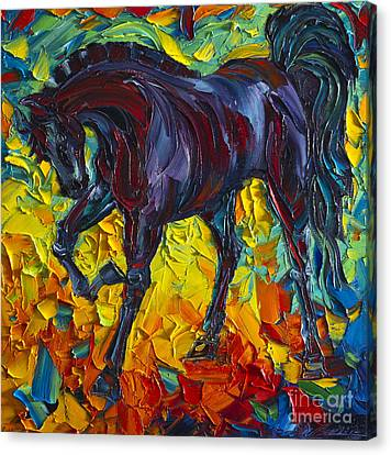 Print On Canvas Print - Horse by Willson Lau