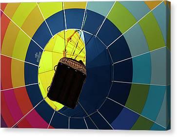 Hot Air Balloon, Balloons Over Waikato Canvas Print by David Wall