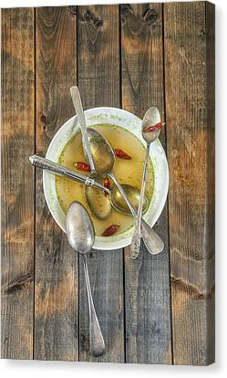 Hot Soup Canvas Print by Joana Kruse