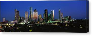 Houston Tx Canvas Print by Panoramic Images