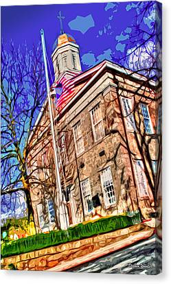 Howard County Courthouse Canvas Print by Stephen Younts