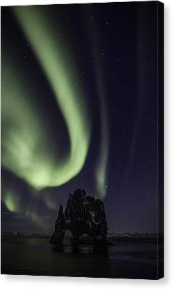Hvitserkur Canvas Print by Frodi Brinks