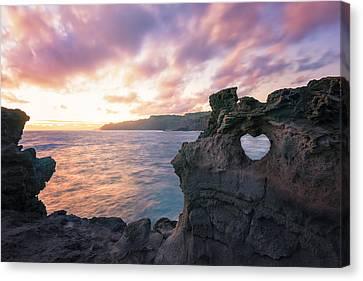 I Heart Maui Canvas Print by Hawaii  Fine Art Photography