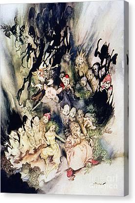 Ibsen: Peer Gynt Canvas Print by Granger