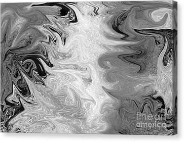 ICE Canvas Print by Carol Lynch