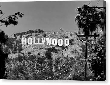 Iconic Hollywood Sign Canvas Print by Mountain Dreams