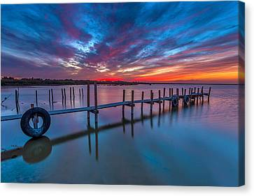 Idyllic Canvas Print by Peter Tellone