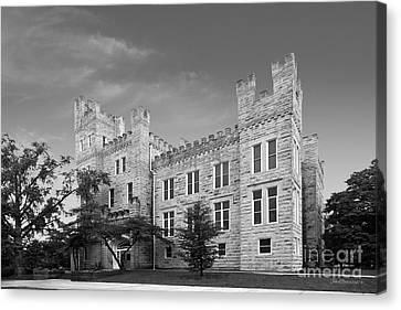 Illinois State University Cook Hall Canvas Print by University Icons
