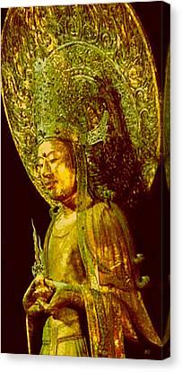 Image Of Buddha2 Canvas Print by Yoko Nakai