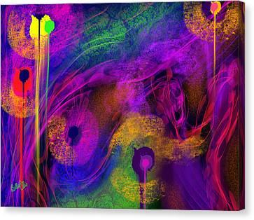 1 In 7 Canvas Print by Billie Jo Ellis